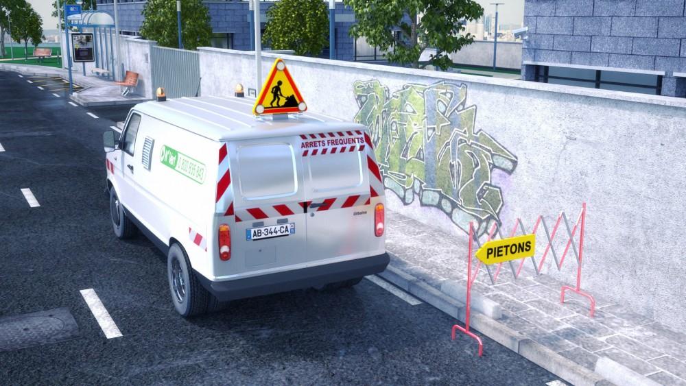 Urbaine de travaux – Film 3D pour la cellule Antigraffiti