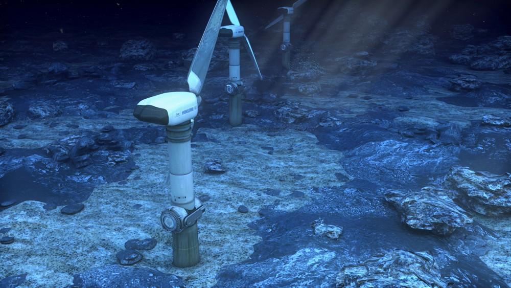 EDF – «Hydrolienne en mer» Fonctionnement